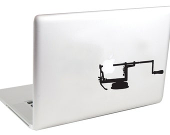 Apple Peeler MacBook Decal by Suzie Automatic
