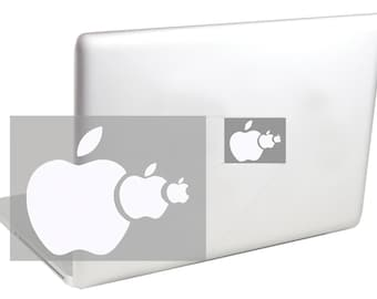 Food Chain MacBook Decal  by Suzie Automatic