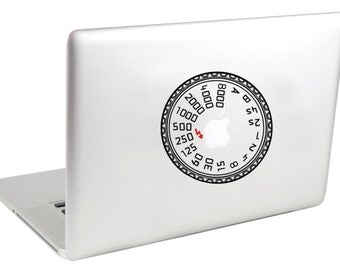Leica Mode Dial MacBook Decals by Suzie Automatic