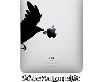 Early Bird iPad Vinyl Decal