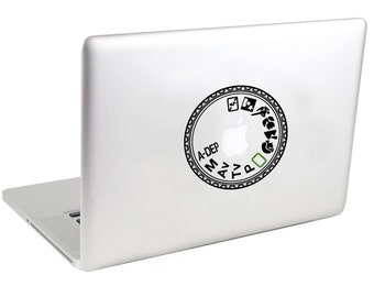 Canon Rebel Mode Dial Laptop Decal by Suzie Automatic