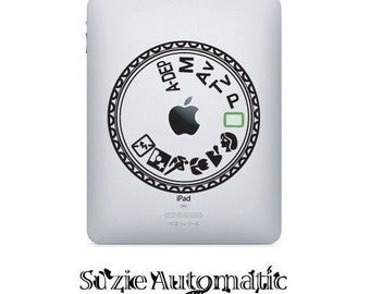 iPad Decal Canon Mode Dial