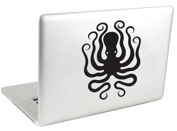 Octopus MacBook Decal by Suzie Automatic