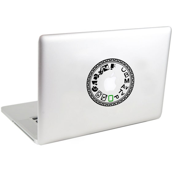 Canon 60D Mode Dial Laptop Decal by Suzie Automatic