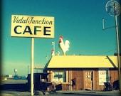 Vidal Junction Cafe. Fine art photo.