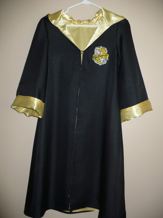 Hufflepuff Robe Inspired By Harry Potter Size 8 10 Includes