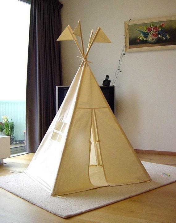 Play tent Teepee - plain