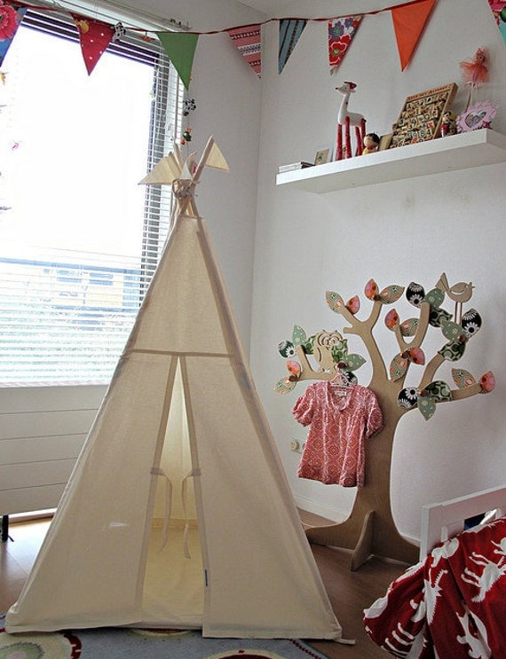 Wigwam play tent NO POLES - Plain fabric tent parts only