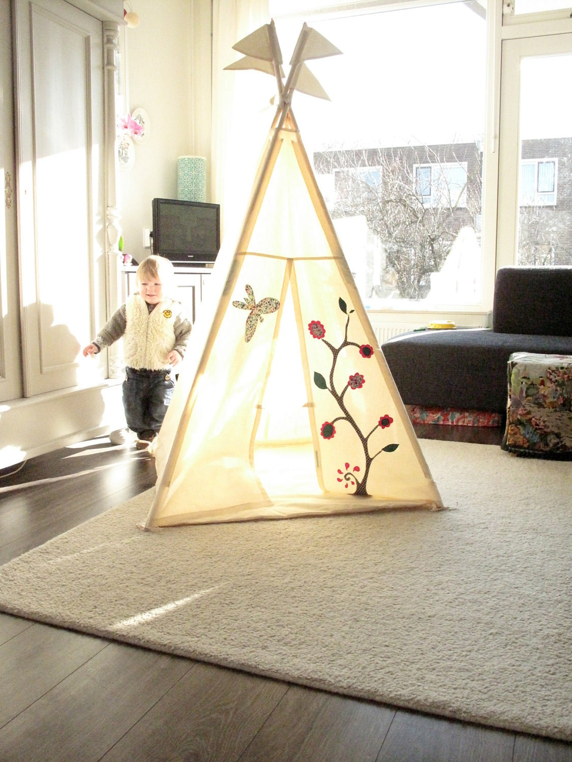 Wigwam Tipi Tent Childrens Play Teepee