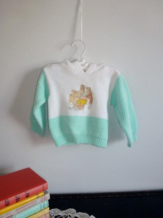 Peter Rabbit Sweater