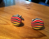 Shipping included (Canada & USA) Polymer Clay Cuff Links