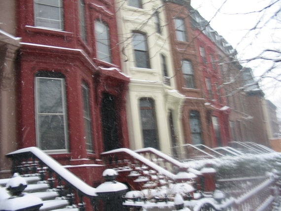 Brooklyn Snow, 8x10 Matted Photograph