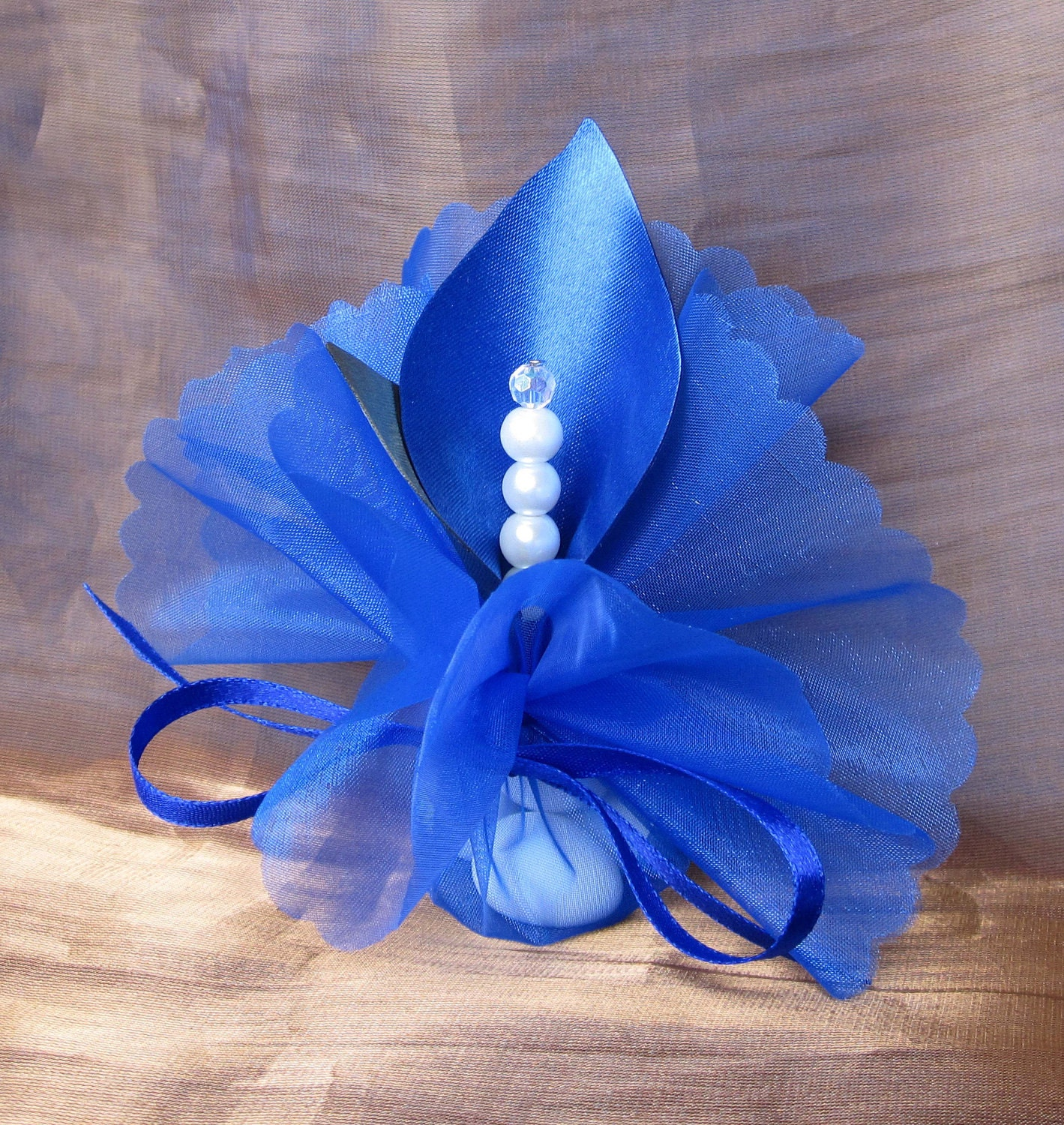 Blue Wedding Table Decorations: Wedding Favors Table Decoration Calla Lily Crystal By Adiart1