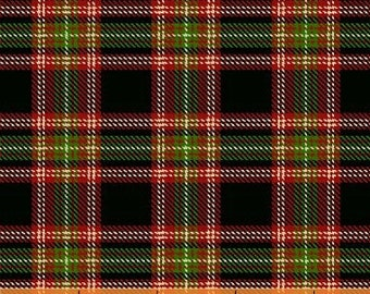 Black Christmas Plaid (30866-3) - BTY - Windham Fabrics