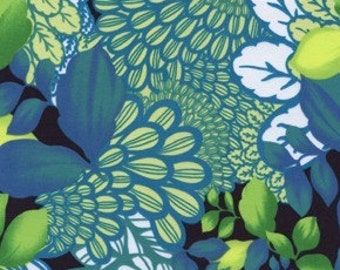 Price Reduced!  Van Gogh Collage in Green (FS14), rayon - Free Spirit  - BTY