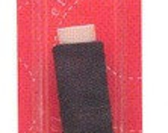 2 spools of elastic sewing thread, black - 30 yards each