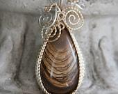 Beautiful Biggs Jasper Pendant