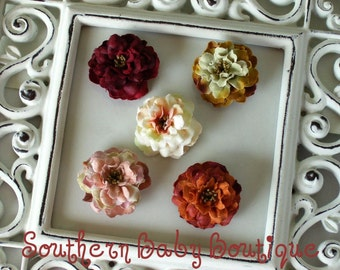 NEW ITEM----Boutique Newborn Baby Girl Toddler Petite Flower Headband-----You Pick Color-----Photo Prop