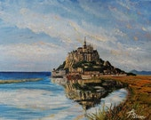 Mont St. Michel - Greeting Card