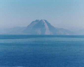 Photography - First Glimpse of Greece - Matted Print of Original Photograph - 5 x 7 in. (CLEARANCE)