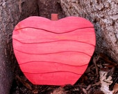 Wooden Apple Stacking Puzzle