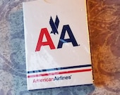 Vintage American Airlines Playing Cards Unopened Never Used