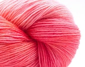 Sorbet, Hand Dyed Hand Painted Sock Yarn, Wool, Silk and Bamboo, 450 yards, sock weight /DK