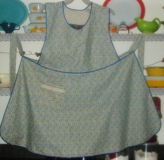 Plus Size Pullover Bib Apron From Vintage Mccall S