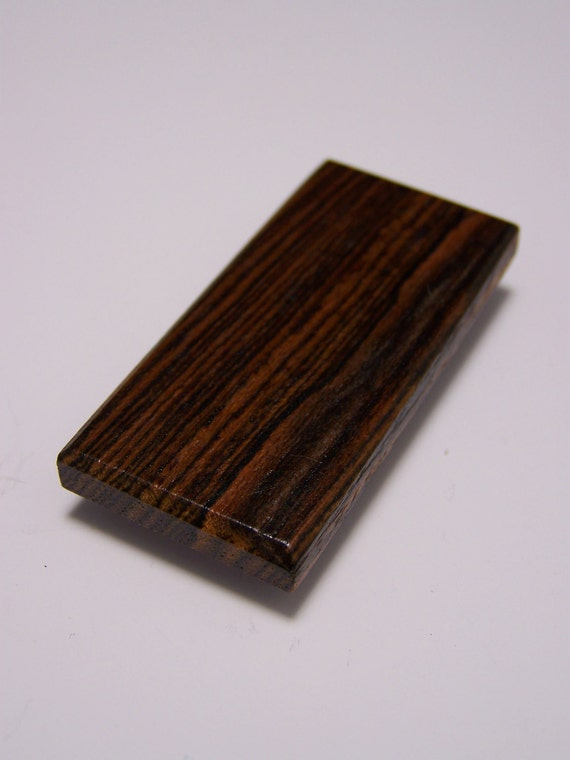 Bocote  Wood Money Clip