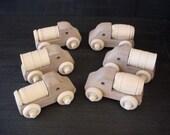 6 Small Barrel Trucks