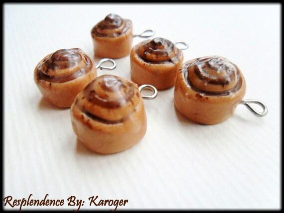 Cinnamon Bun Charm