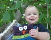 Owl Crochet Pattern (pdf)
