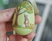 Hand Painted Wooden Easter Eggs Ready to be Personalized
