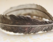 The Feather Bracelet - Sterling Silver