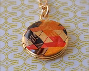 The Color Study Mini Locket - Vintage - CS1