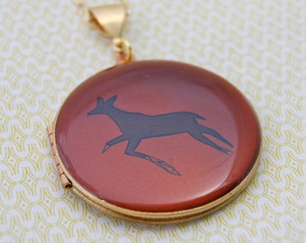 The Deer Locket - Vintage - Verabel and Fox