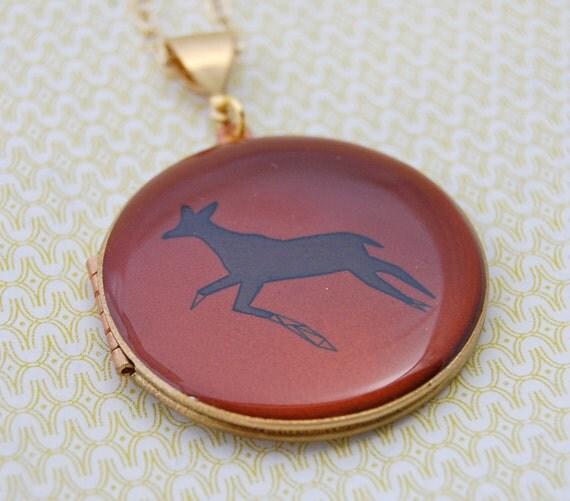 The Deer Locket - Vintage - Verabel and Fox