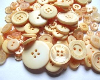 200 Yellow Buttons Sunflower Sunshine Lemon Gold Goldenrod Cadmium for Sewing Crafts Crafting Spring Buttons Easter Buttons Yel01