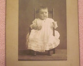 Antique Photograph of an Infant Marked Ruth Emmerson SALE
