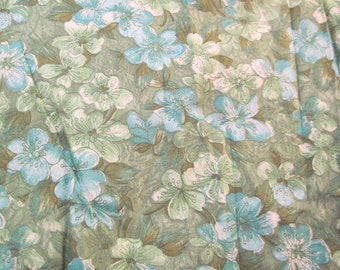 """Vintage cotton Fabric 1 yard x 34"""" wide more available SALE"""