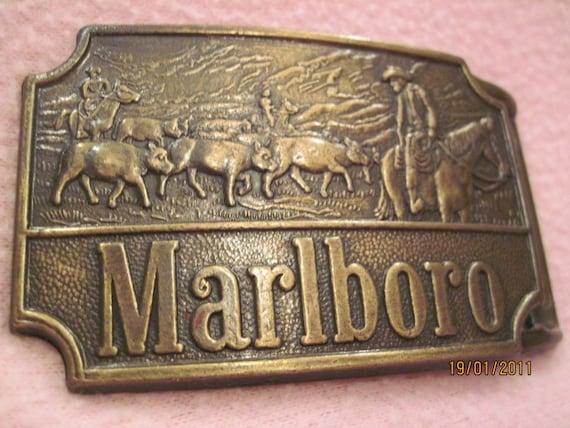 Vintage Belt Buckles For Sale Marlboro Belt Buckle Vintage