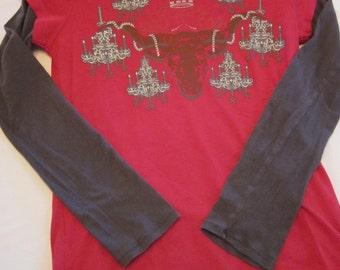 Longhorn Chandelier Tshirt