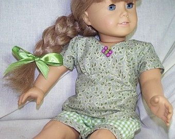 Refresh  blouse and walking shorts for American Girl