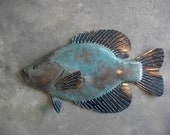 Crappie metal fish wall Art  sculpture Lake Cabin Cottage