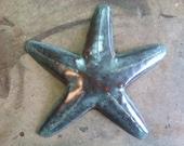 Starfish Handmade  Beach Tropical  Coastal Decor Metal Art Sculpture Art