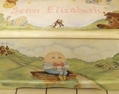 Reserved listing Nursery Rhyme Toy Chest Custom Designed
