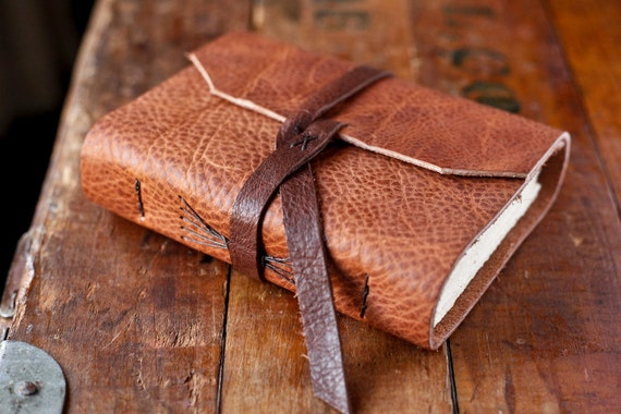 Leather Journal - Rustic Leather Travel Journal