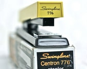 Vintage Swingline Centron 776 Yellow Stapler