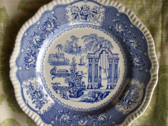 Spode Blue Room Collection Regency Series Pagoda 1840