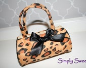 50%  Off HOLIDAY SALE - Ready to Sale - Adorable Animal Print Toddler Purse - My 1st Purse - Diva